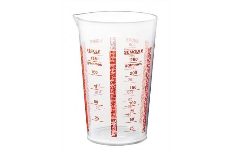 Verre doseur plastique 1/4L