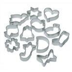 Set de12 emporte pièces en fer blanc LARES