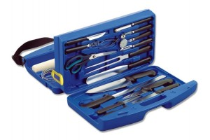 Malette 18 ustensiles et couteaux  Deglon Class 4 Pro