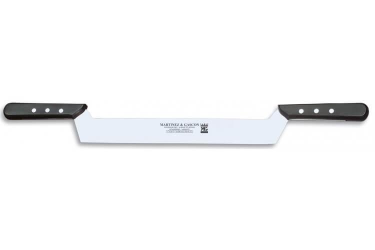 Couteau à fromage 2 manches Martinez & Gascon 3 rivets - 32cm