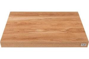 Planche à découper KAI en chêne clair 39x26x4cm  + pieds antidérapants