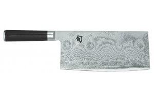 Couteau de chef chinois Kai Shun Classic damas lame acier haute qualité 18cm