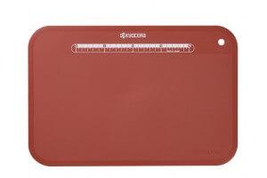 Planche à découper souple Kyocera rouge 37x25x0.3cm