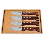 Coffret de 4 couteaux à steak le P'tit Boucher Au Nain fabrication française