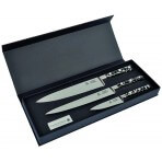 Coffret de 3 couteaux de cuisine Pépites Au Nain fabrication française