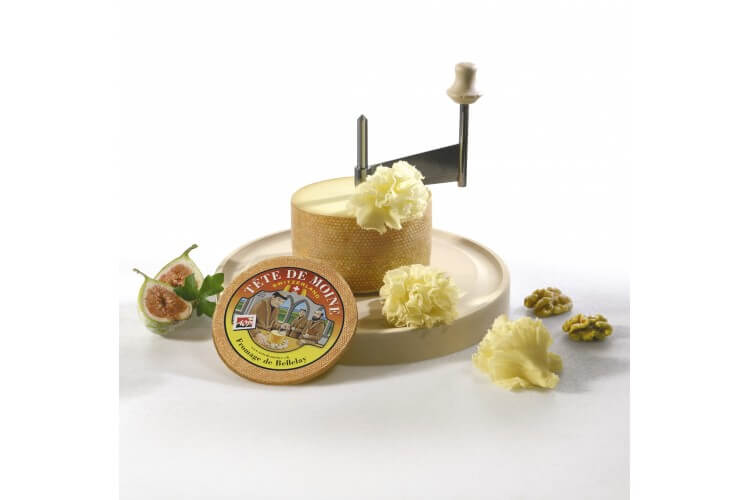 La Girolle® à fromage originale à manivelle acier inox