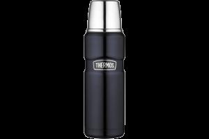 Bouteille Thermos® King inox double paroi + tasse - 0.47L