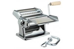 Machine à pâtes Imperia manuelle chromée + 2 accessoires