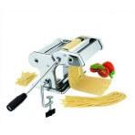 Machine à pâtes ergonomique et manuelle en inox - 9 positions