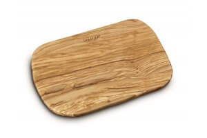 Planche à découper en bois d'olivier Sabatier 30x20cm