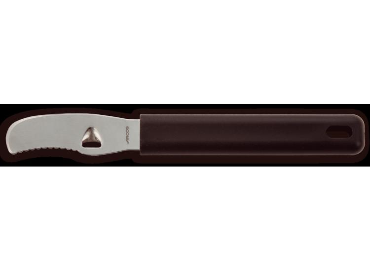 Cannleur double fonction Arcos acier inoxydable 6.5cm