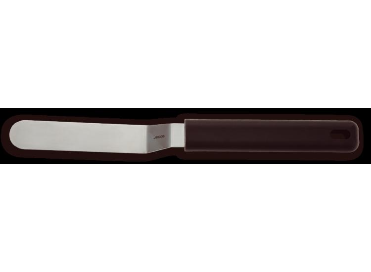 Spatule coudée ergonomique Arcos acier inoxydable 9x2cm