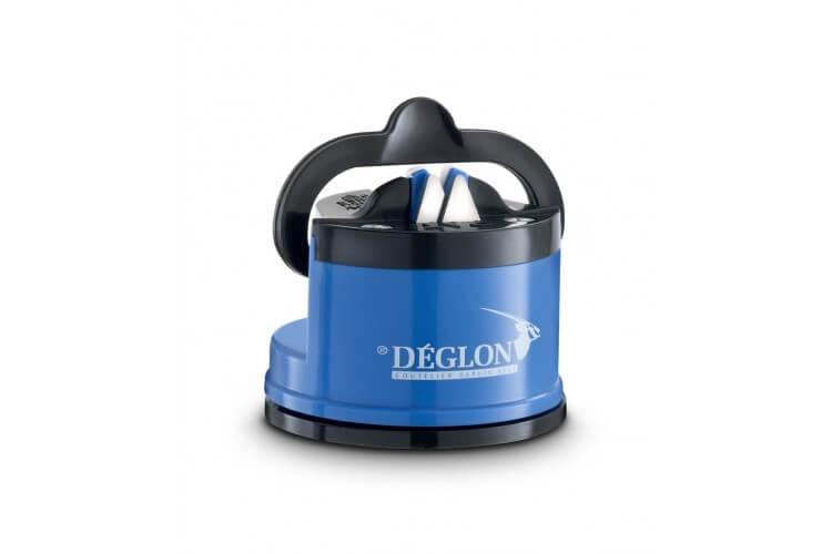 Affûteur manuel ergonomique Deglon bleu plaques céramique