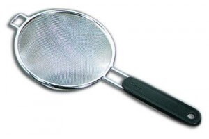 Passe-bouillon tamis fin inox diamètre 16cm