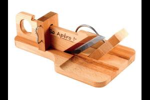 Guillotine à saucisson SO APERO ! en bois 100% française