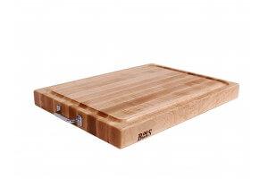 Planche à découper Boos Blocks Pro Chef bois d'érable avec rigole 61x46x6cm