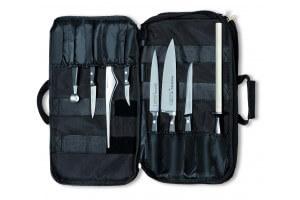 Mallette souple DICK 5 couteaux + 3 ustensiles haut de gamme