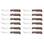 Coffret de 12 Couteaux à steak Arcos lame 11cm acier NITRUM® manche en bois