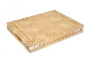 Planche à découper de luxe Chabret en bois 50x40cm