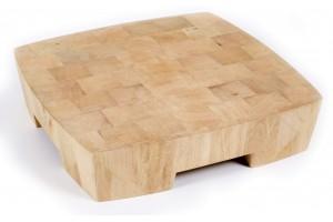 """Billot CHABRET """"V Design"""" par Studio QOOQ 40x40x9cm"""