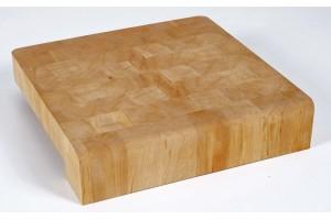 "Billot CHABRET ""J Design"" par Studio QOOQ 40x40x9cm fabrication française"