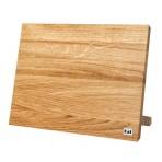 Bloc magnétique KAI en chêne pour 6 à 8 couteaux de cuisine