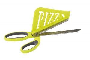 Ciseaux à pizza Kitchen Artist 2 en 1 + pelle intégrée ingénieuse
