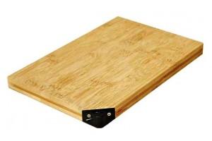 Planche à découper TAIDEA en bambou + aiguiseur intégré