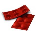 Moule professionnel en silicone Silicon Flex 300x175mm 6 demi-sphères
