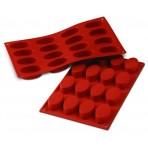 Moule en silicone professionnel Silicon Flex 300x175mm 16 petits fours ovales