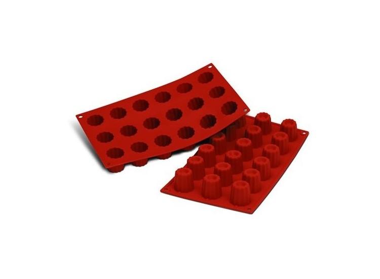 Moule en silicone professionnel Silicon Flex 300x175mm 18 mini cannelés