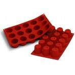 Moule en silicone professionnel Silicon Flex 300x175mm 15 mini cannelés
