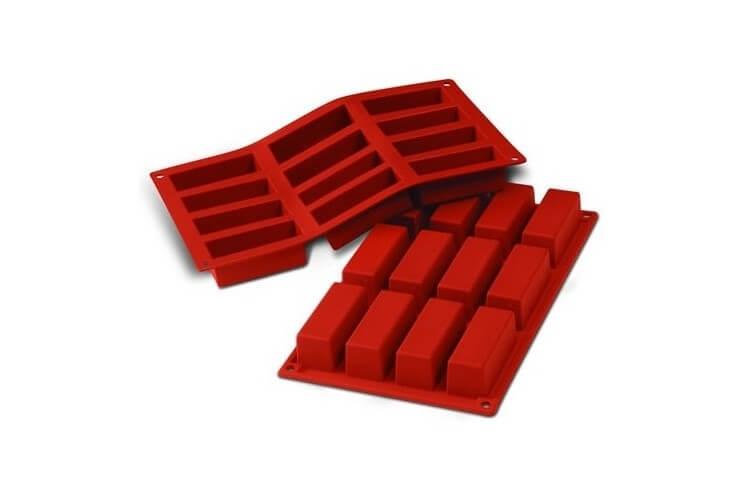 Moule en silicone professionnel Silicon Flex 300x175mm 12 mini cakes