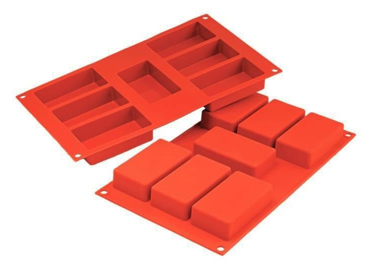 Moule en silicone professionnel Silicon Flex 300x175mm 7 cakes