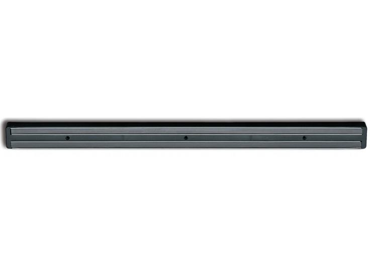 Barre Aimantée Noire longueur 62 cm pour couteaux de cuisine