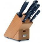 Bloc couteaux 5 pieces Wusthof Gourmet avec 4 couteaux et 1 fusil