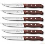Set de 6 Couteaux à steak Gaucho lame 14cm palissandre Victorinox