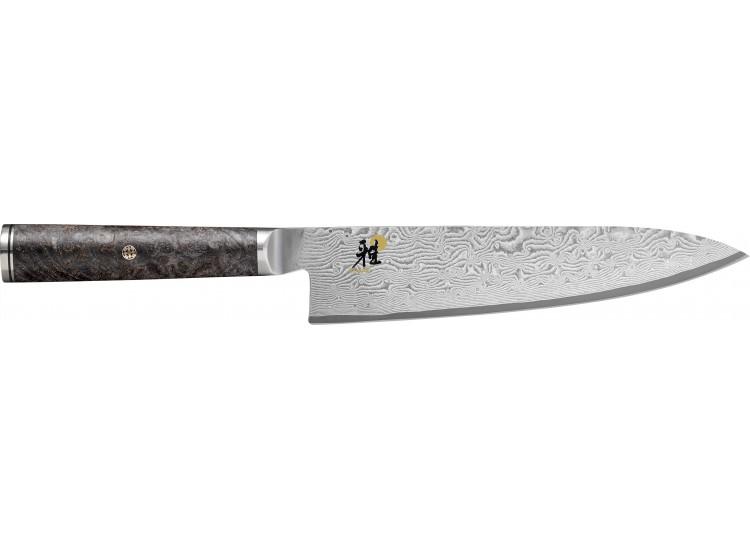 Couteau japonais Gyuto Miyabi 5000MCD67 20cm 132 couches de damas