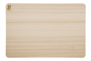 Planche à découper rectangulaire KAI en Hinoki japonais - 27.5 x 21.5cm