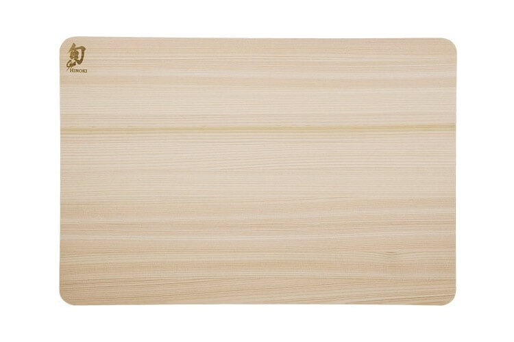 Planche à découper rectangulaire KAI en Hinoki japonais - 40.5 x 27.5cm