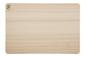 Planche à découper rectangulaire KAI en Hinoki japonais - 46 x 30.5cm