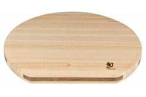 Planche à découper KAI en Hinoki japonais - Forme originale en D