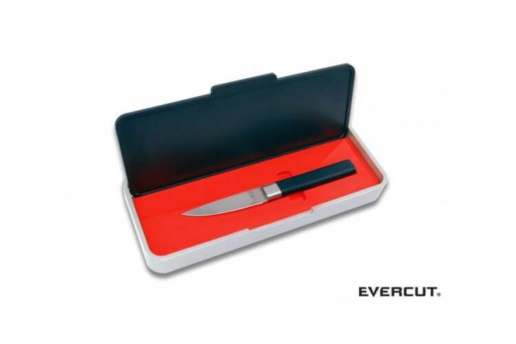 Couteau Evercut Office sans affûtage lame lisse 9 cm