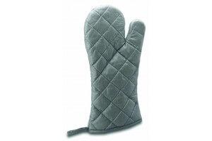 Moufle anti-chaleur professionnelle coton et aluminium (260°C) 30cm