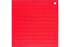Manique silicone rouge grand modèle 30x30cm