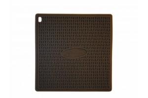Manique silicone chocolat 17,5x17,5cm