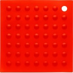 Manique silicone rouge petit modèle 18x18cm