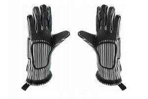 Paire de gants anti-chaleur (250°C) professionnels coton + silicone 32cm