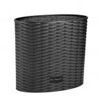 Bloc universel design rond noir LOU LAGUIOLE intérieur fibres PP