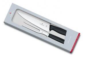 Coffret à découper Victorinox SwissClassic couteau à découper + fourchette de chef